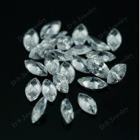 AAAA Marquise loose cubic zirconia brilliant cut synthetic diamond price per carat for sale