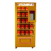 Wholesale Full Metal Soda Vending Machine , Blue / Pink / Yellow Lucky Box Food Vending Machines from china suppliers