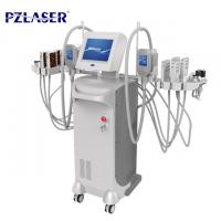 Wholesale Fat Freezing Cellulite Removal Equipment , Lipo Laser Cavitation Vacuum Machine from china suppliers