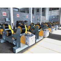 Wholesale 30T Self Aligning Pressure Vessels Pipe Turning Rolls With Double Motor / PU Wheels from china suppliers