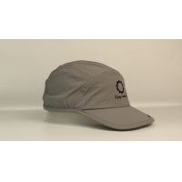 Wholesale 2020 Quick dry sports material rubber printing 5panel palstic buckle sports camp hats caps from china suppliers