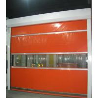 China Fast Acting Roller Shutter Doors Thermal Insulation High Speed Vinyl Roll Up Doors on sale