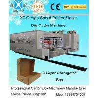 China High-speed Pringting Slotting Die-cutting Carton Machines on sale
