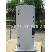 Single Coil Solar Water Heater Tank 400L For Vacuum Tube Solar Collector for sale