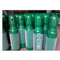 Wholesale Green / Blue 34CrMo4 High Purity Compressed Gas Cylinder 200BAR 5.2mm Thickness from china suppliers