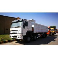 Wholesale Howo 40 Ton Construction Heavy Duty Dump Truck 8X4 371hp Front Tipping from china suppliers