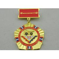 2D or 3D Brass Custom Awards Medals on Breast with Die Stamping, Photo Etching, Injection