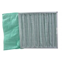 Wholesale Medium Efficient Washable Synthetic Fiber Industrial Dust Bag Pocket Filter from china suppliers