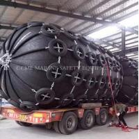 Quality Marine Inflatable Pneumatic Natural Rubber Fender for sale