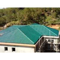 Wholesale 1050mm width Acoustic Corrugated Pvc Roofing Sheets For Villa / Hotel from china suppliers