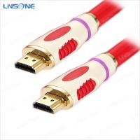 Wholesale Dual color 24k gold plated hdmi cable V1.4 from china suppliers