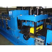 China 16 Stations C Z Purlin Roll Forming Machine With 11KW main Motor PLC Automatic Control on sale