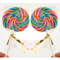 Wholesale Funny Lollipop Erasers For Kids With Multi Color from china suppliers