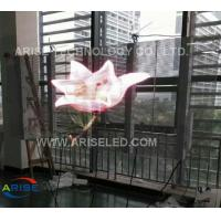 Wholesale Full Color Transparent LED Display AEISELED,Glass Window Led Displays P8,P10mm,p3.91,P7.81 from china suppliers