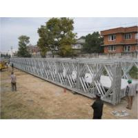 Wholesale Multiple - Span Modular Steel Bridges DS Double Single Type Bailey Bridge For Highway from china suppliers