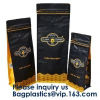 China Box Bottom Bags Stand up Pouch Side Gusset bag Flat Bags Twist Film,RICE PACKAGING BAGS, chocolate packaging pouch bag on sale