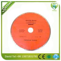 Wholesale continous saw blade --professional,factory price granite circular saw blade with laser cut from china suppliers
