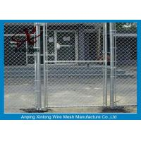 Wholesale Diamond Hole Chain Link Mesh Fence Galvanized Wire Mesh For Sports Ground Barrier from china suppliers