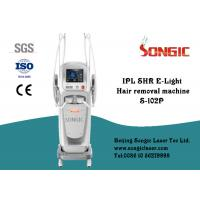 China White Vertical IPL SHR Elight Skin Rejuvenation Machine For Hair Removal for sale