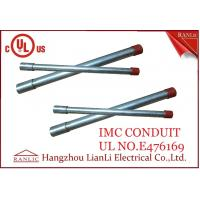 Best White Thin Wall Steel IMC Electrical Conduit Galvanized 1-1/2 inch 1-1/4 inch wholesale