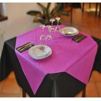 Buy cheap Wholesale colorful pp/tnt spunbond non-woven tablecloth in Italy ,50gsm 1*1m from wholesalers