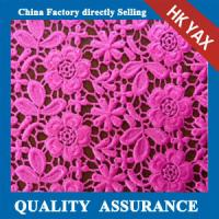 Wholesale China factory YAXL-E1587 cord lacefabric,new design cord fabric lace,fashion cord lace fabric from china suppliers