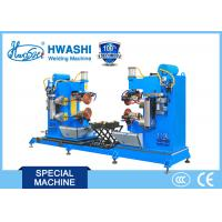 China Dual Circular Rolling Seam Welding Machine Alusil Fuel Tank Cap Application on sale