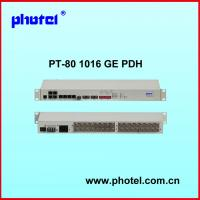 Best 8E1 16E1 PDH MUX with 1+1 optic fiber protection AC+DC power wholesale