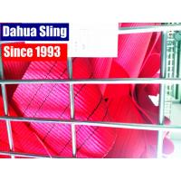 Wholesale 150 MM 5 Ton Red Heavy Duty Polyester Webbing Roll TUV GS Certificate from china suppliers