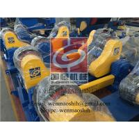 Cylinder Self AlignedWelding Rotator / Pipe Turning Rolls Double Drive