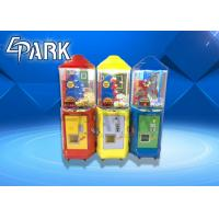 China coin operated kids play lollipop gift vending catch candy game machine for sale