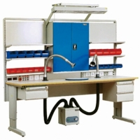 Wholesale Laboratory Electronic 300KG  Stainless Steel ESD Workbenches from china suppliers
