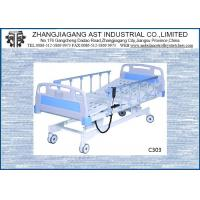 Wholesale Three Function Electric Hospital Bed Adjustable Height With CPR Linak Motor from china suppliers