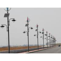 Best CE Wind Solar Hybrid Street Light System With Vertical Axis Maglev Wind Turbine wholesale
