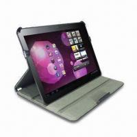 Wholesale Folio Leather Case for Samsung Galaxy Tab 10.1, Available in Novel, Unique and Fashionable Designs from china suppliers