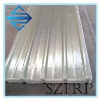 China Transparent Corrugated Roofing Sheet on sale