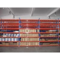 Wholesale Long Life Span Metal Storage Shelving 50mm Pitch Easy Assembly For Warehouse from china suppliers