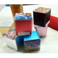 China Q12 Portable Outdoor Wireless Bluetooth Speaker Subwoofer Card Radio Small Speaker on sale