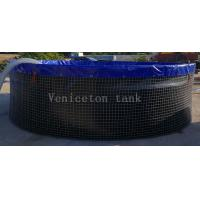 Chongqing Veniceton  30000 Liters wire mesh tank for fish farming for sale