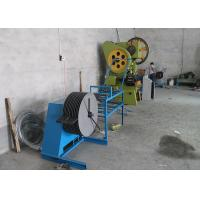 Easily Operating Razor Barbed Wire Machine 6000kg Weight Low Raw Materials Loss