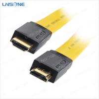 Wholesale 24K gold plated flat hdmi cable V1.4 from china suppliers