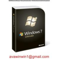 China PC Windows 7 Professional License Key / Laptop Windows 7 Product License Key for sale