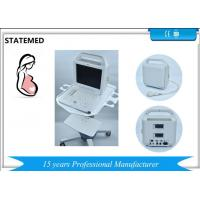 China Human Use 12 Inch Laptop black and white ultrasound machine with 2 Probe for sale