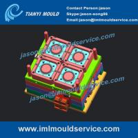 Wholesale 4 cavities china plastic thin wall injection mould produced, high speed thin wall mould from china suppliers