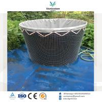 200L-100,000L High quality wire mesh tank aquaculture tank for fish farming for sale