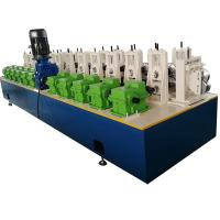 China 2-3 m/min Vineyard Post Metal Roll Forming Machine With Hydraulic Punching for sale