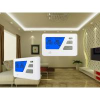 Blue Backlight Digital Wired  Room Thermostat For Electric Heating System for sale