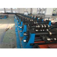 Heavy Duty Metal Roll Forming MachineSpot Welding 70mm Roller Axis For Shelving