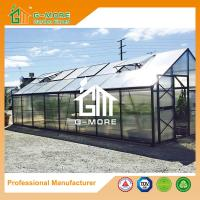 Wholesale Aluminum Greenhouse-Titan series-806X406X273CM-Green/Black Color-10mm thick PC from china suppliers