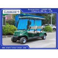 Wholesale Green 48 Volt 3KW DC Motor 4 Seater Golf Buggy / Electric Club Car from china suppliers